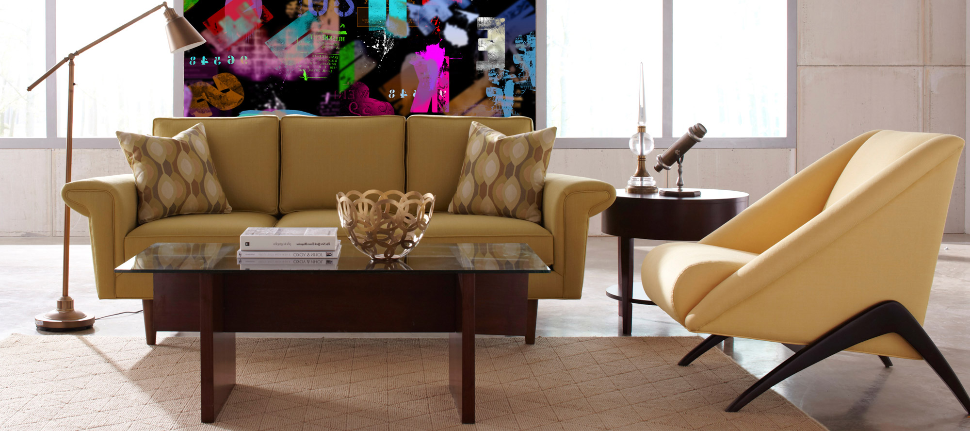 D'infinity, Abstrakt Kreatif Laminates For Drawing Room-Sundek International