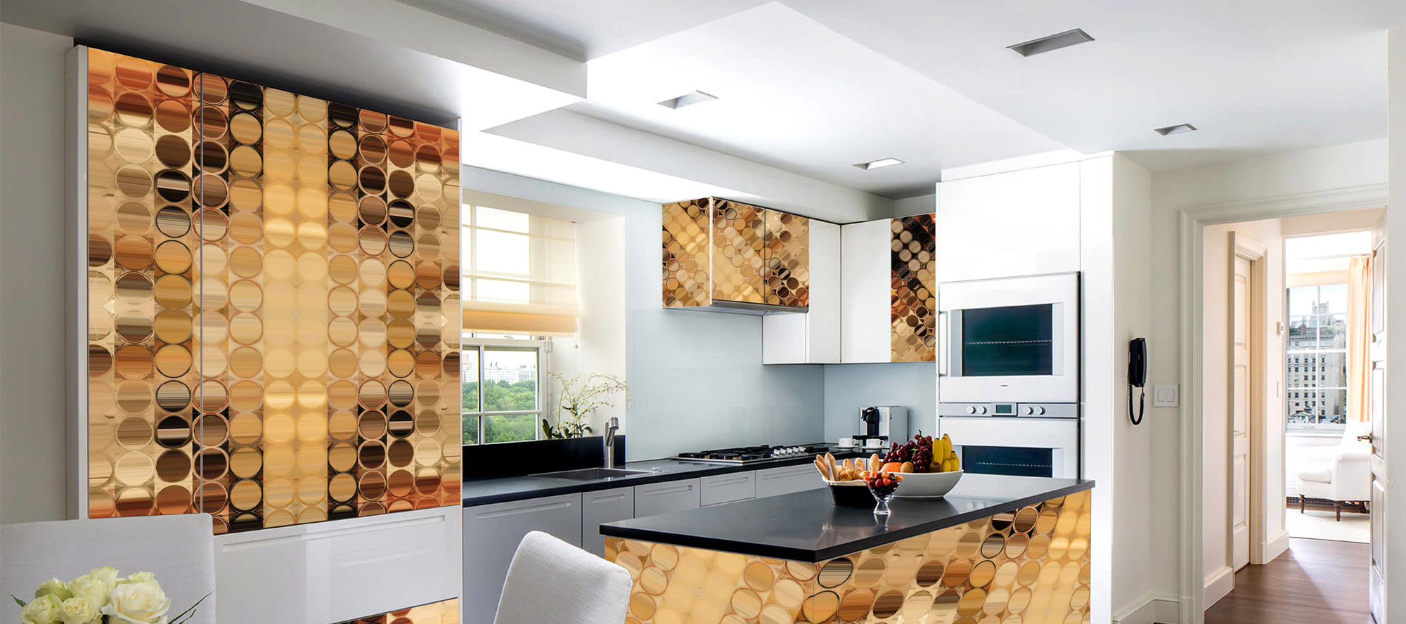 D'infinity, Abstrakt Kreatif Laminates for Office-Sundek International