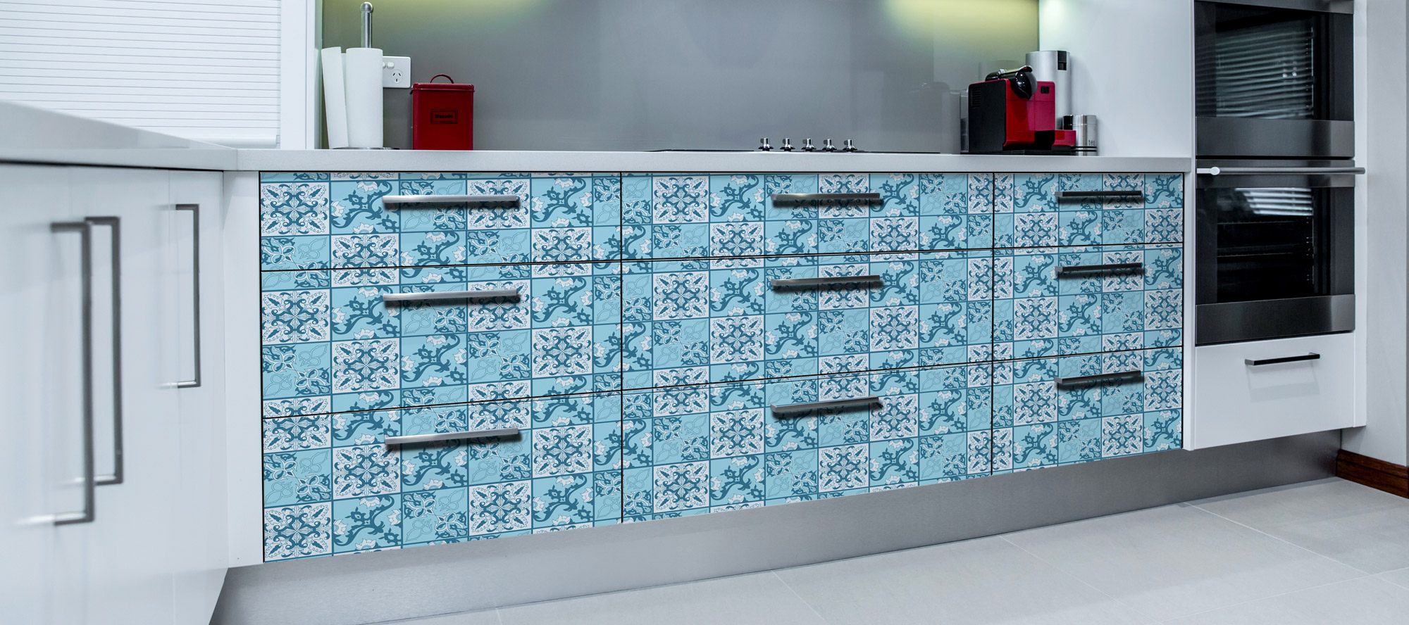 D'infinity, Abstrakt Kreatif Floral Laminates For Kitchen-Sundek International