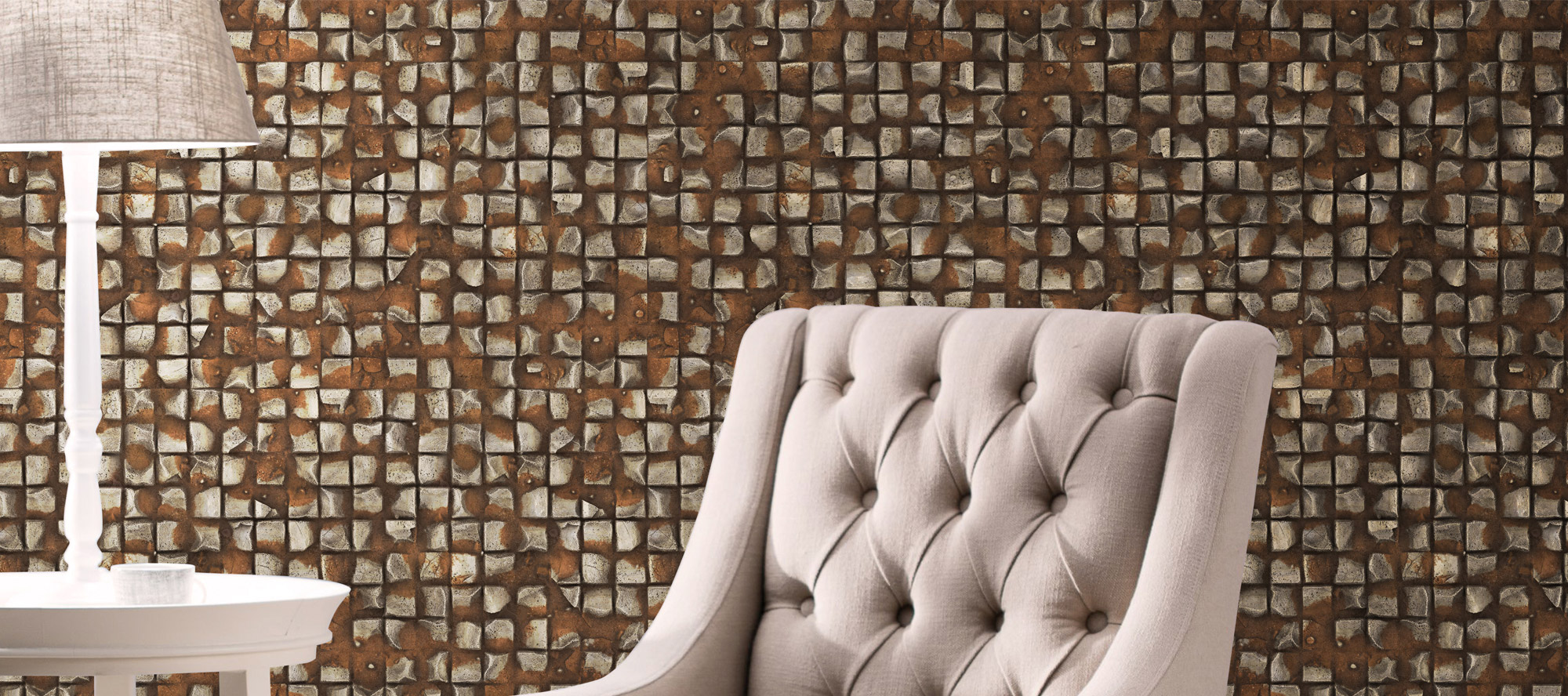 D'infinity, Abstrakt Kreatif Wooden Laminate Texture-Sundek International
