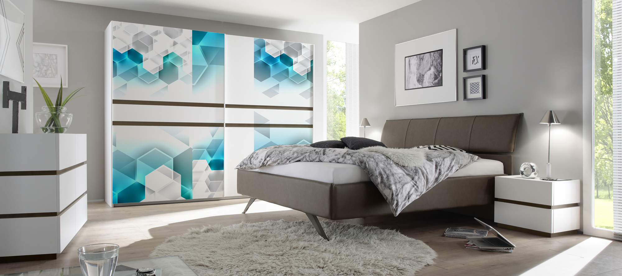 D'infinity, Colore Spektrum Laminates For Bedroom Collection-Sundek International
