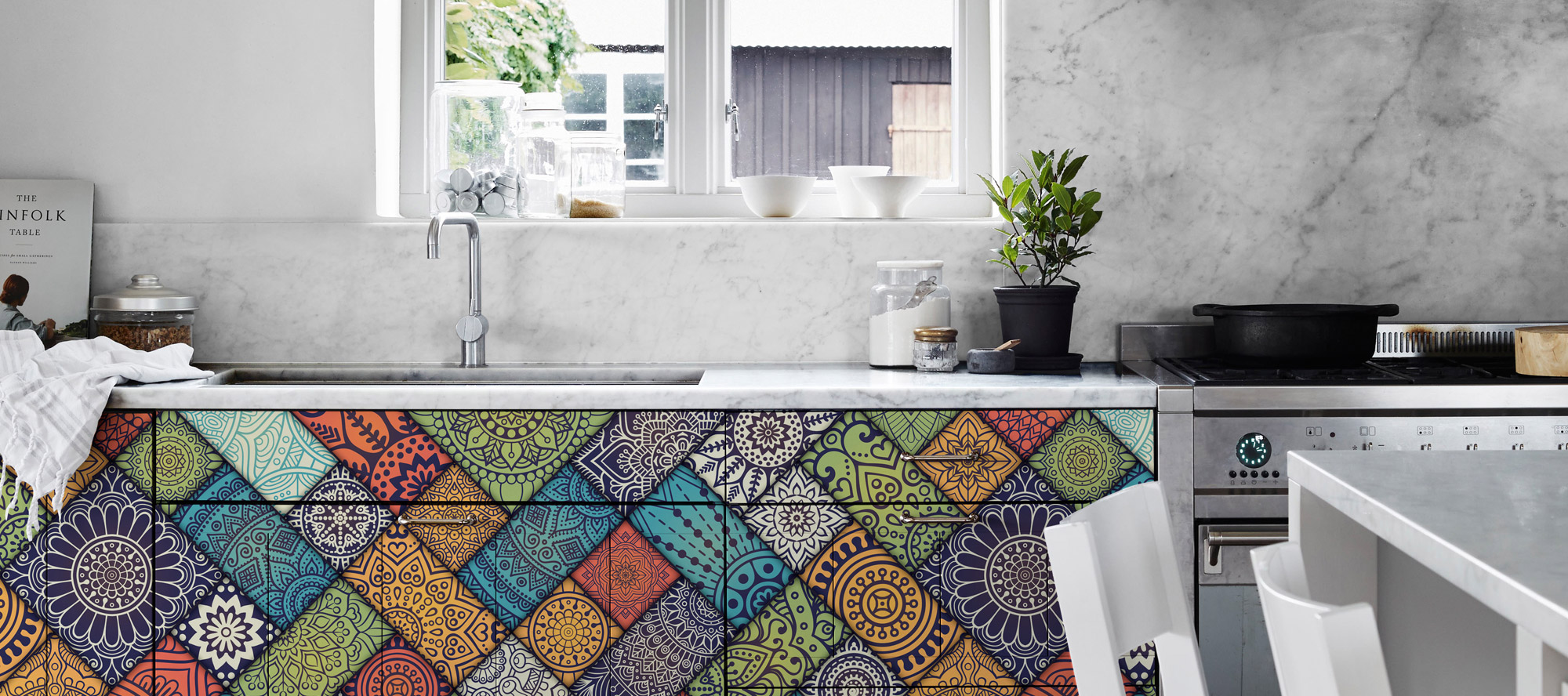 D'infinity, Colore Spektrum Digital Laminates For Kitchen-Sundek International