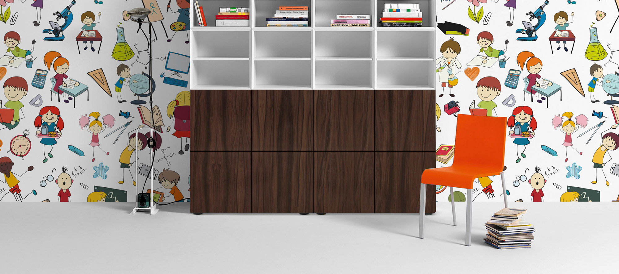 D'infinity, KidsZone latest laminate designs For Children Bedroom Collection-Sundek International