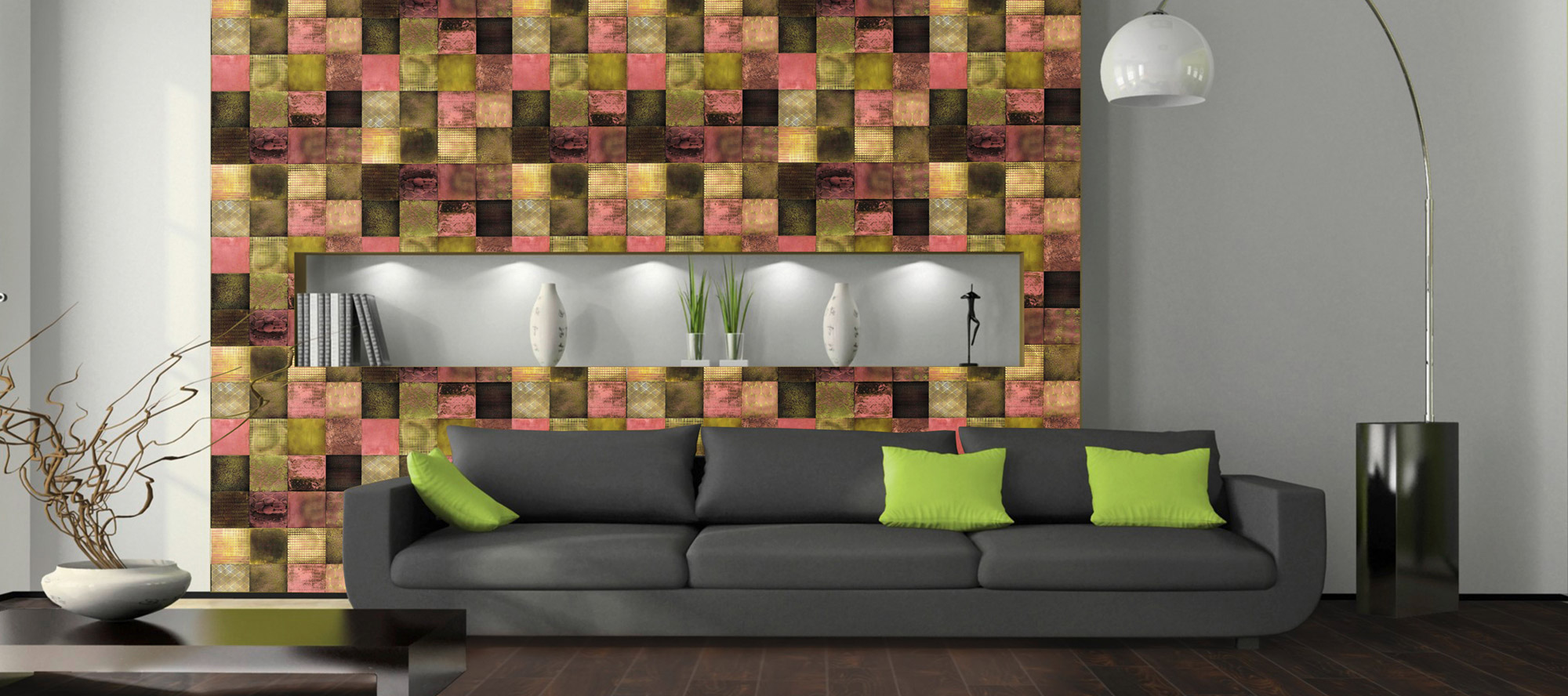 D'infinity, Materialistik Connexion Laminates For Living Room-Sundek International