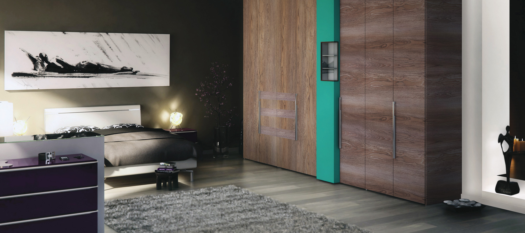 Era Laminates Design Collection For Bedroom Wardrobe-Sundek International