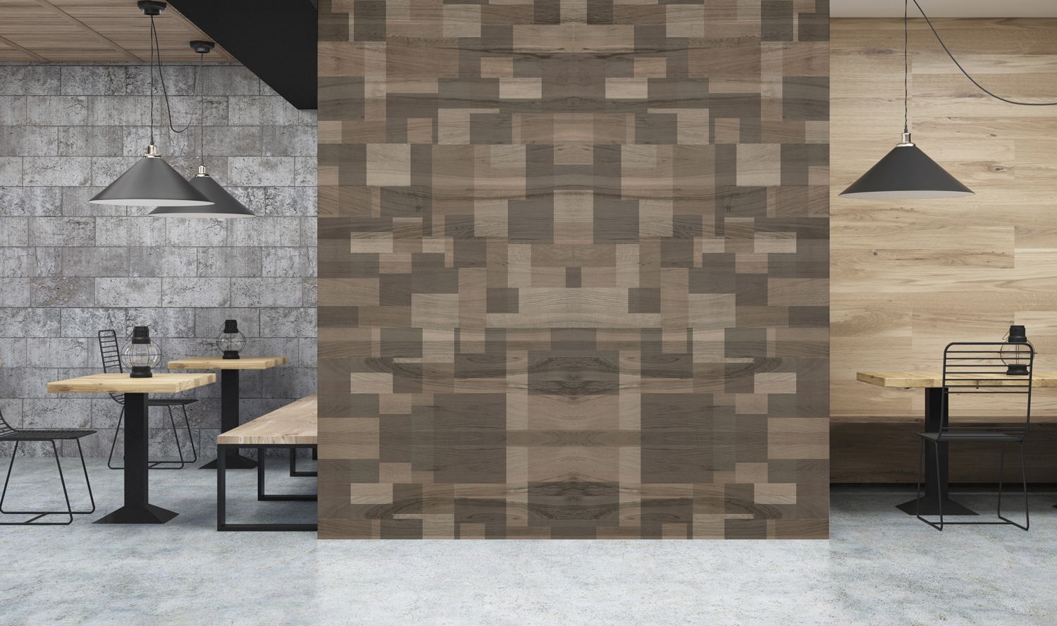D'infinity, Mix Media Collection of Wooden Laminate Texture-Sundek International