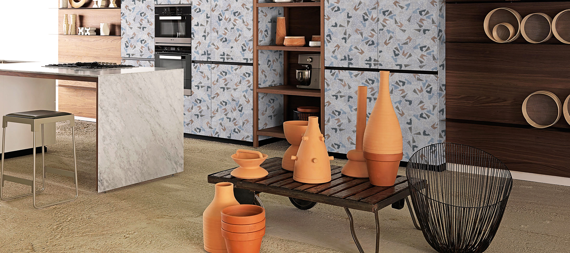 D'infinity, Stone Extravaganza Laminates For Kitchen-Sundek International