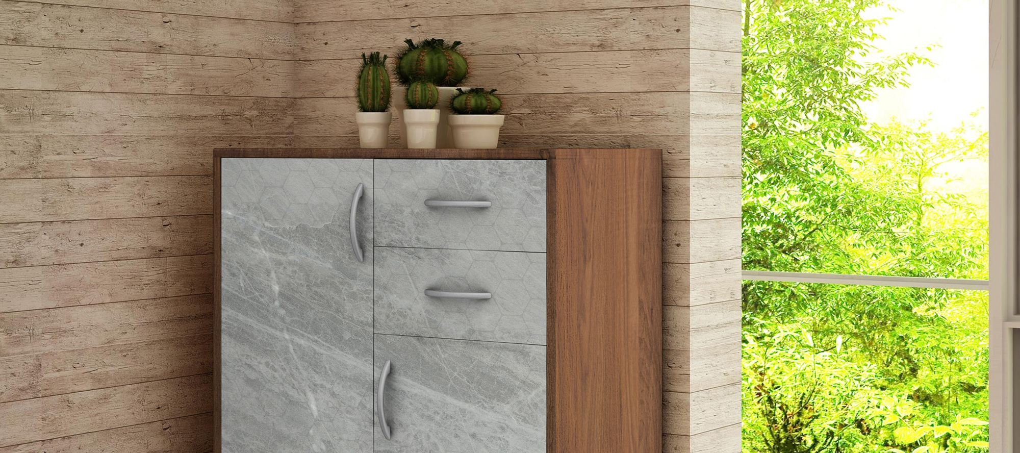 D'infinity, Stone Extravaganza Collection of Digital Laminates For Wardrobes-Sundek International